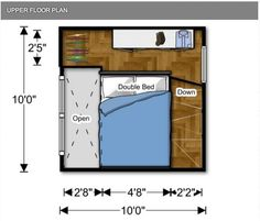 For those wanting an affordable housing alternative, these micro homes are available ranging from $25,000 - $28,000. How micro are we talking here? It's a 10' x 10' two level house that includes a...