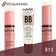 91dd43fcff7 NYX bundle BB cream + 2 butter glosses All brand new and sealed