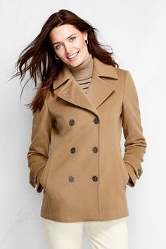 Wool Blend Reefer Coat | Wool blend, Nordstrom and Coats
