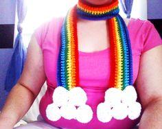 Rainbow Scarf #howto #tutorial