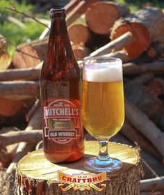 Mitchell's Brewery's Old Wobbly Lager. At ABV it works as advertised. Malted Barley, More Beer, Beers Of The World, Natural Preservatives, Beer Tasting, Craft Beer, Brewery, Beer Bottle, Alcoholic Drinks