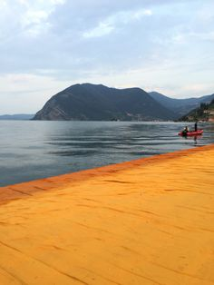Cristo' Floating Piers