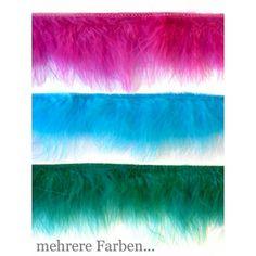 "Federfranse ""Marabu"" ca. 6-7cm"