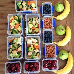 Food prep; healthy foods