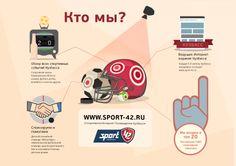 Наша новая работа - коммерческое предложение для Спортивного Интернет-Телевидения Кузбасса. Представляем его постранично. Стр. 2.