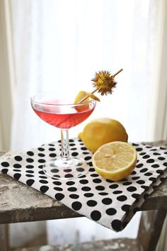 The bold lemon flavor of citron vodka is tempered thanks to the addition of cranberry juice and elderflower liqueur, to create a full-bodied, well-rounded beverage. Recipe: A Beautiful Mess   - HouseBeautiful.com