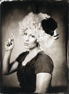 bubble gum - ambrotype byMr.Flawless
