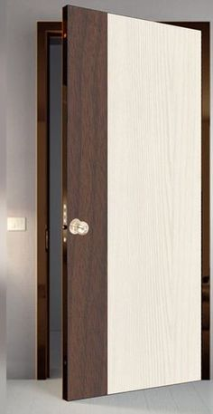 Solid Wood Doors For - January 12 2019 at - May 21 2019 at Flush Door Design, Main Door Design, Wooden Door Design, Bedroom Door Design, Door Design Interior, Interior Barn Doors, Craftsman Interior, Modern Wooden Doors, Wood Doors