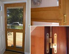 puerta mosquitero - terminación