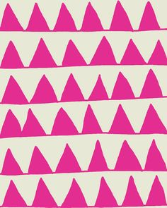 pink triangles print
