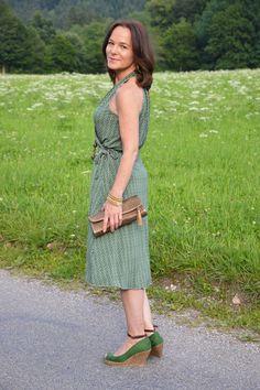 1 WRAP DRESS - 2 FASHION BLOGGERS | Lady of Style