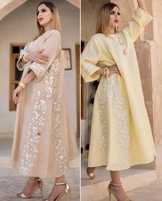 Kaftan Designs, Arab Fashion, India Fashion, Designer Sarees Wedding, Designer Dresses, Caftan Dress, Knit Dress, Hijab Style Dress, Abaya Style