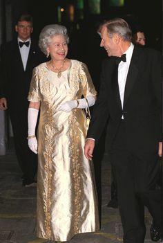 Elizabeth, 1999: Glam in Gold 50th Wedding Anniversary