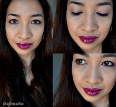 Fall Trend:: Glossy Plum Lips via @thefabzilla