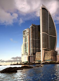 Trump Ocean Club International Hotel. Panama.