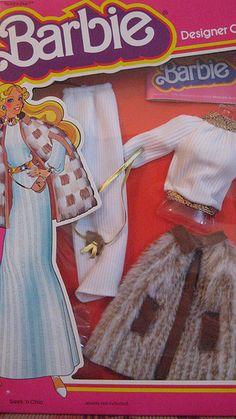 "Barbie 1979 Designer Originals ""Sleek N Chic"""