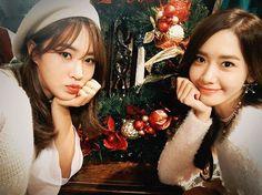 @yoona__lim - Instagram:「Happy birthday 유리언니 사랑해요 #윤율 #룸메의추억 #융스타그램」