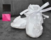 White Satin Dress, Blessing dress, Christening Dress, Flower Girl Dress,Couture Dress, baby Dress, infant Dress, Toddler Dress. $110.00, via Etsy.