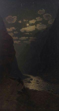 Daryali Canyon - Gevorg Bashinjaghian, 1909