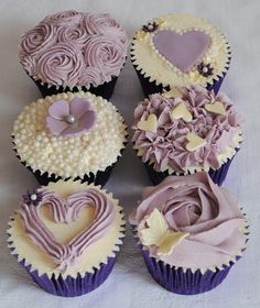 Shabby Chic Cupcakes - Hen Party Class Ideas by thecustomcakeshop, via Flickr