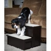 Found it at Wayfair - Two Step Pet Stairs in Espresso