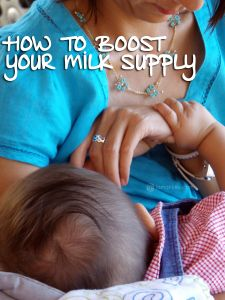 Boost your milk supply