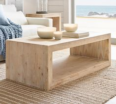 Products Folsom Coffee Table, Chateau Pine - Furniture - Coffee Tables - Pottery Barn Trees matter t Coffee Table Pottery Barn, Round Wood Coffee Table, Reclaimed Wood Coffee Table, Diy Coffee Table, Decorating Coffee Tables, Coffee Table Design, Modern Coffee Tables, Diy Table, Coffee Coffee