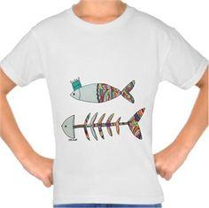 Balık Kendin Tasarla - Çocuk Tişört