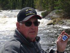 Some beautiful rapids on Duane's Canadian fishing trip! www.threepillars.org