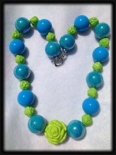 Chunky Bubblegum Bead necklace