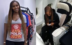 Tiwa Savage just made the braids hairstyle even more attractive! She has been spotted in this lovely hair and we love how adorable she looks!
