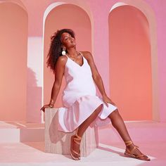 I'm back with an all-new collection! Inspired by the Greek goddesses of creativity, I created a collection filled with essential Spring-ready pieces. Click in the link in bio to shop the entire #KellyRowlandxJustFab collection. Kelly Rowland, Photo And Video, Creative, Goddesses, Inspiration, Shopping, Collection, Greek, Instagram