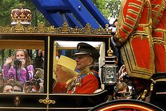 The filthy-rich monarchy parading their wealth and privilege through our streets. We don't need them.