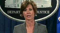President Donald Trump relieved acting Attorney General Sally Yates of her duties Monday night after she directed Justice Department attorneys not to defend Trump's controversial executive refugee and immigration ban.