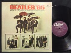 The Beatles '65 Capitol Purple Label w/ Barcode Re-issue LP Vinyl Record