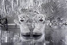 Adidas Holidays Bears Silver by Adidas x Jeremy Scott