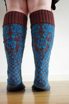 Spring Roses - in Vienna (the socks) by Kamilla