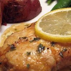 Rich Herb and Lemon Chicken - our Valentine's dinner tradition!! This is our FAVORITE!!!