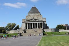 Shrine of Remenbrance : Mémorial en souvenir des soldats qui se sont battus pour leur pays - Melbourne