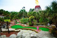 Why Myrtle Beach Takes Mini-Golf So Seriously Myrtle Beach Golf, South Carolina Coast, Famous Architects, Summer Beach, Habitats, Golf Courses, Carpet, Tropical, United States