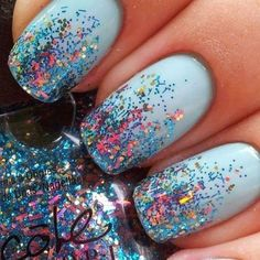 15 Best So-Pretty Acrylic Nails Ideas and Inspirations - Women Fashion Ideas - Nageldesign Best Nail Art Designs, Nail Designs Spring, Acrylic Nail Designs, Acrylic Nails, Nailart, Easy Nail Art, Cool Nail Art, Nail Art Diy, Blue Nails