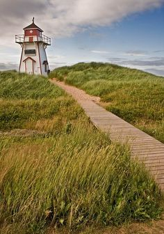 Prince Edward Island, Canada (I figure since I was born there I should see the place someday)