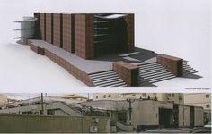 Progetto di massima per recupero e ampliamento di una autorimessa ad Arezzo