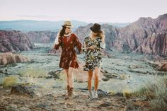 Bohemian photoshoot in Southern Utah among the Red Rocks. It was just like a painting. This was such a fun shoot! We loved working with these beautiful models. Hair: Kenna CollinsMakeup: Dakota DennettPhotography: Bryce JohnsonMod...