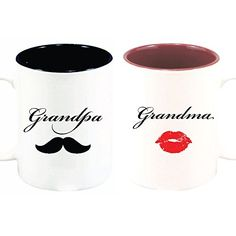 Grandpa and Grandma Mugs Moustache and Lips - 15 oz.  with Gift Boxes Custom Creator http://www.amazon.com/dp/B00N8BU4YU/ref=cm_sw_r_pi_dp_ZzGwwb12KT0VY