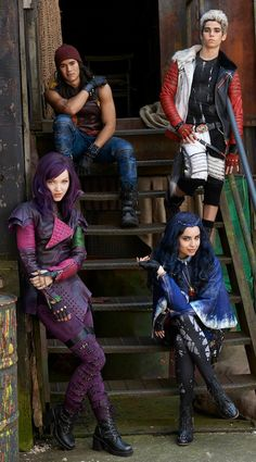 Descendants is coming out soon!!!! Can't wait