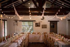 Decoración de bodas con luces y velas - light wedding decor