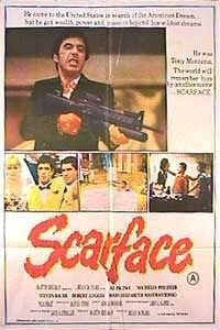 Scarface Movie Poster (#6 of 8) - IMP Awards See Movie, Cinema, Baseball Cards, Movies, Movie Posters, Movie Theater, 2016 Movies, Cinematography, Film Poster