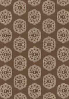 CIRCLE IKAT, Flax, W74142, Collection Richmond from Thibaut