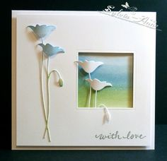 so pretty..... card by Sylvia-Anne